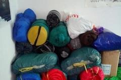 Schlafsack Spenden
