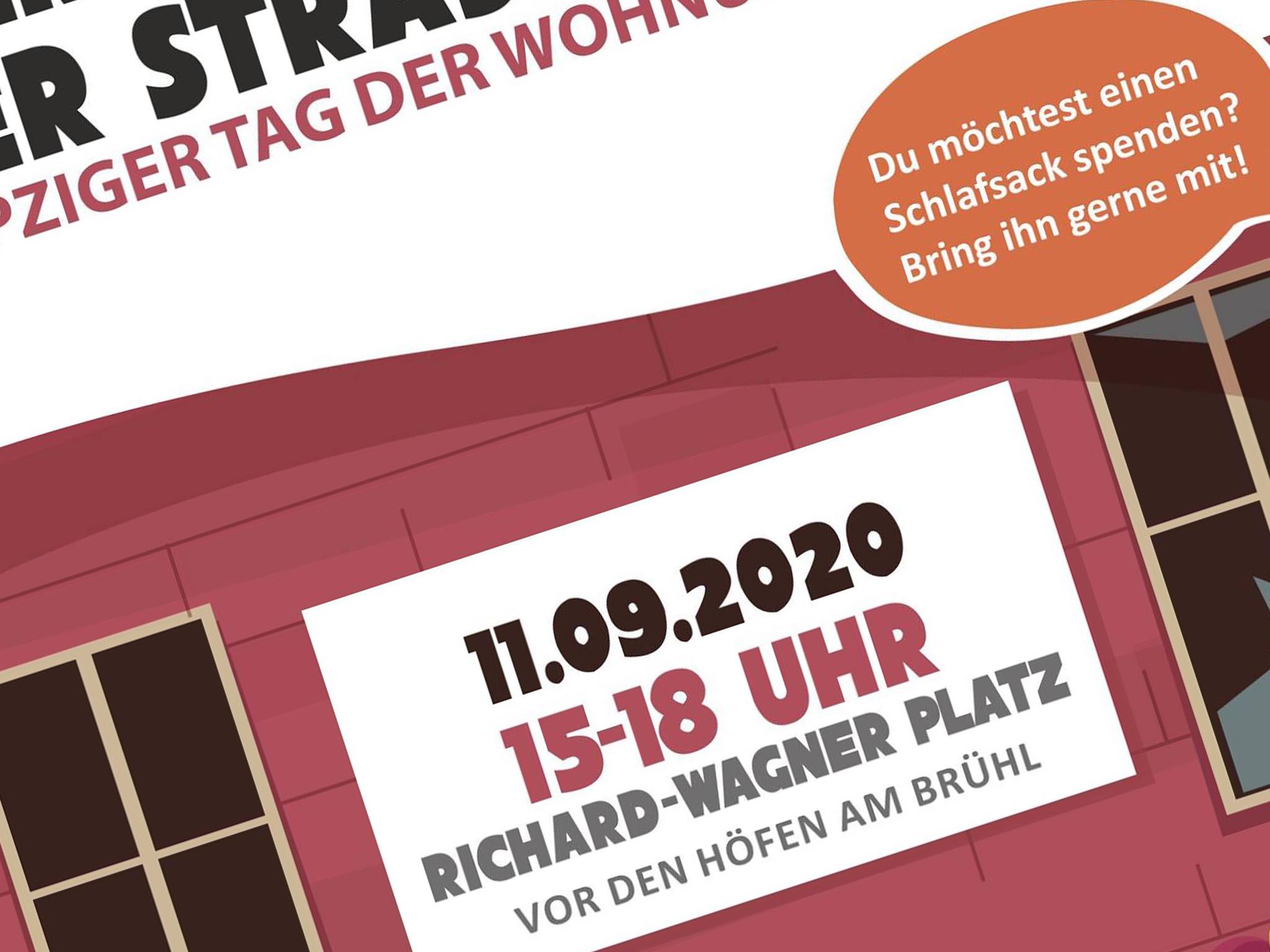 Tag der Wohnungslosen 2020 - Leipzig