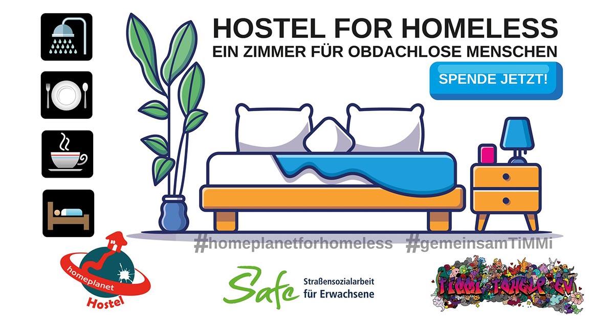 Kampagne Home Planet for Homeless